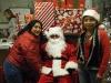 Ana y Carmela con Santa