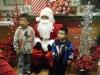 Niños con Santa