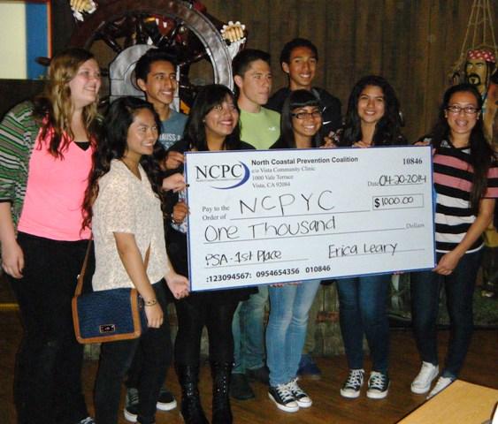 NCPYC 1stPrize Check-web